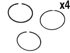 engine Piston Ring Set (x4) Standard (82.50mm) GOETZE