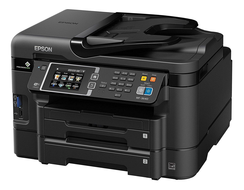 Epson WorkForce WF-3640 Printer with Scanner and Copier