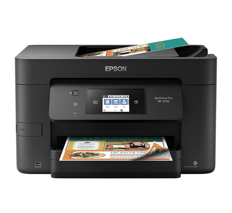 Epson Workforce Pro WF-3720 Printer with Scanner and Copier