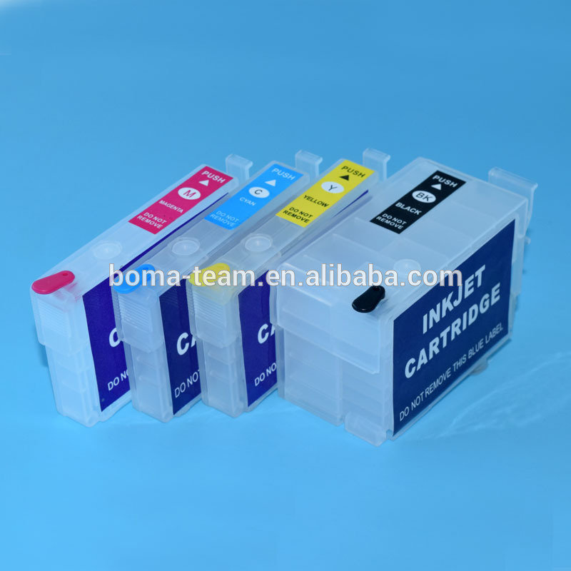Refilled Ink Cartridges For Epson WF-3620 WF-3640( 10 packages )
