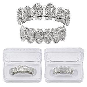 TOPGRILLZ 18K Gold&Silver