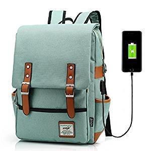 Laptop Backpack with USB port (Unisex bag)