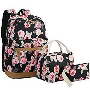 Women School Bags, Bookbags 3 in 1