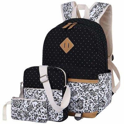 Girls School Bags set of 3