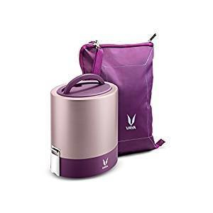 Lunch Box with Bagmat - 3 Copper Containers
