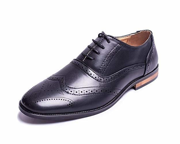 Jabasic Men Oxford Shoes Classic Modern