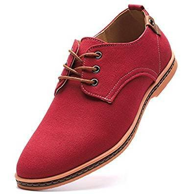 Oxford Soulier red