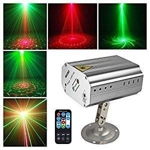 Sound activated Party Lights Disco Dj Stage