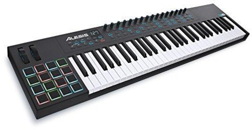Alesis VI61 | Advanced 61-Key USB MIDI Keyboard & Drum Pad Controller