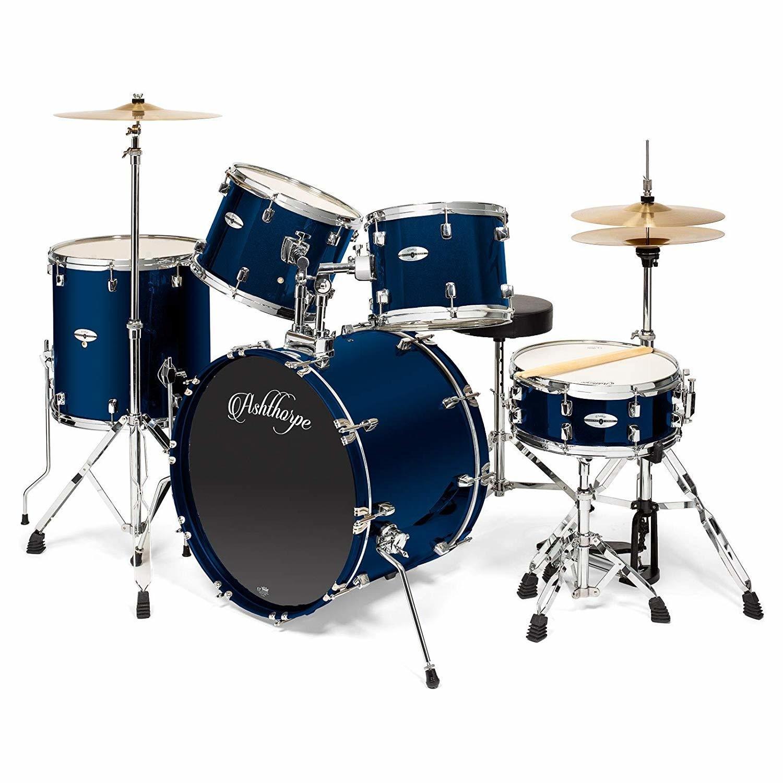 Ashthorpe 5-Piece Full Size Adult Drum Set