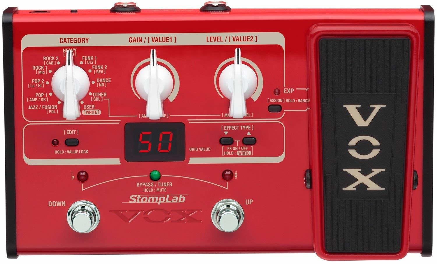 VOX StompLab 2B Multi-Effects Modeling Pedal