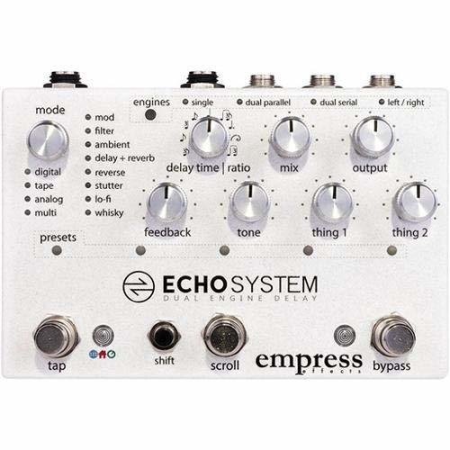 Empress Effects Echosystem Delay Effect Pedal