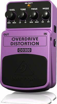 OVERDRIVE DISTORTION OD300