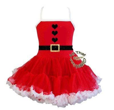 Christmas Tutu Dress For Little Girls