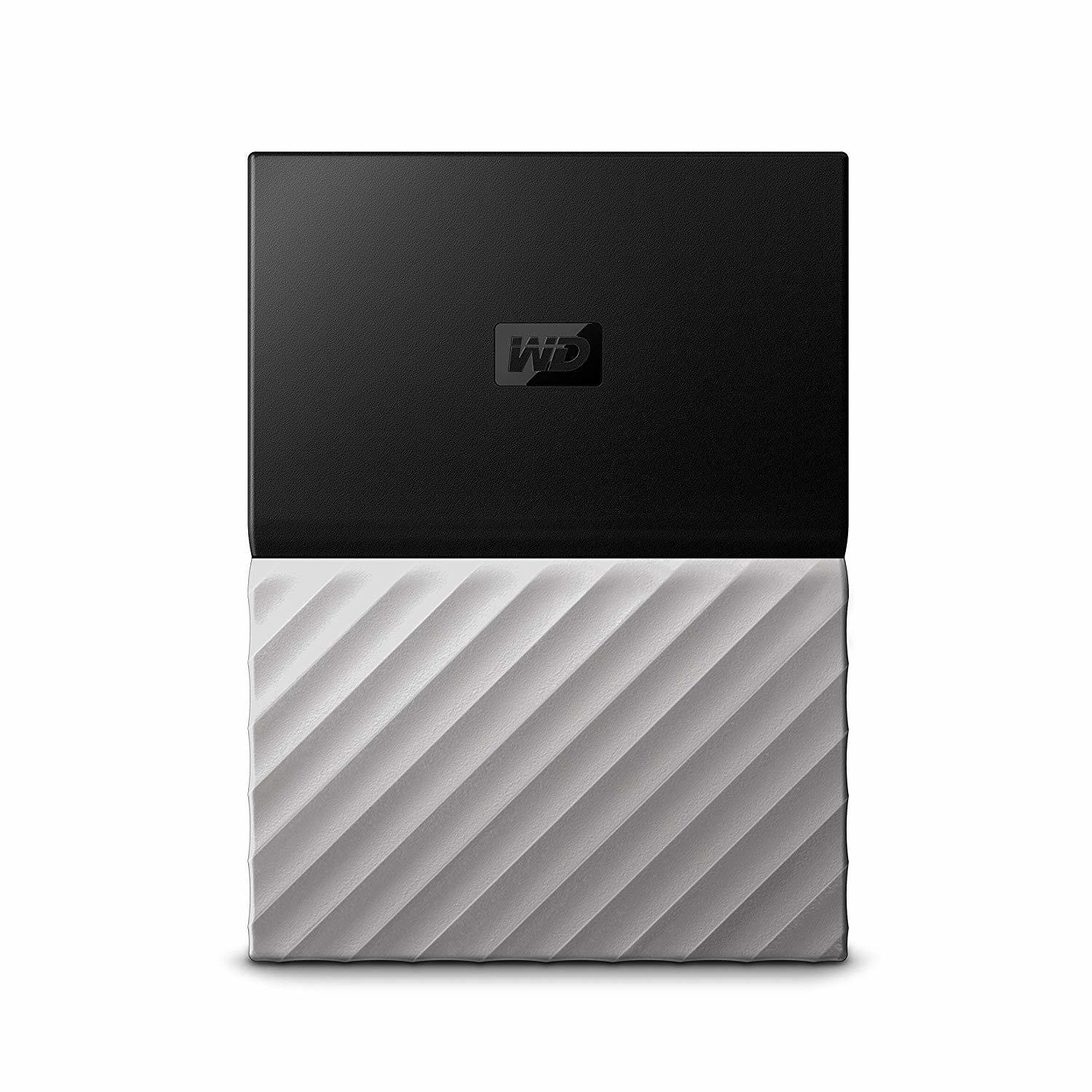 WD 3TB Black-Gray My Passport