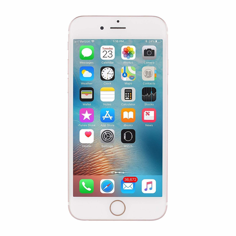 Apple iPhone 6S, Fully Unlocked, 64GB (Refurbished)