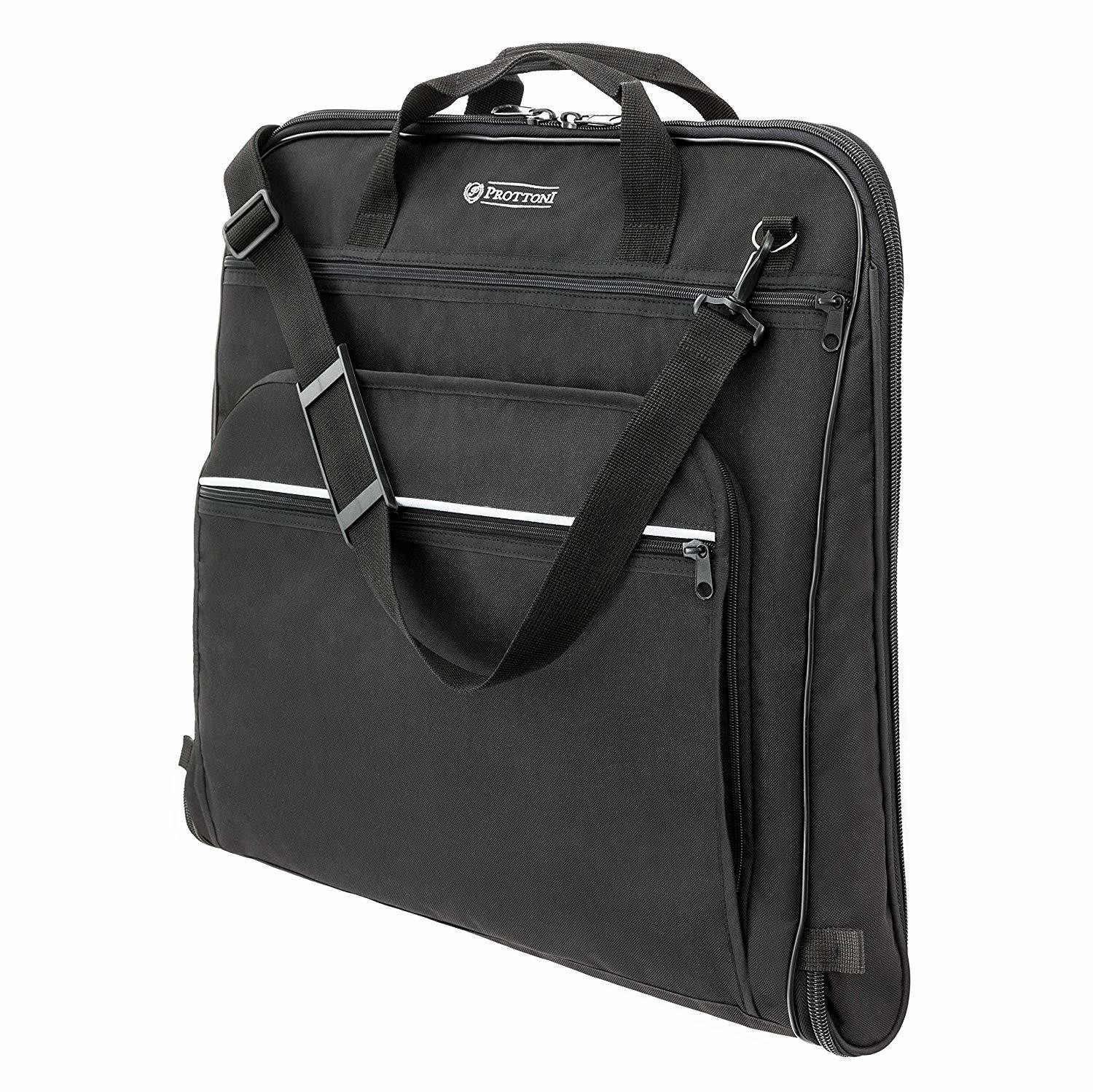 "PROTTONI 44"" Garment Bag with Shoulder Strap"