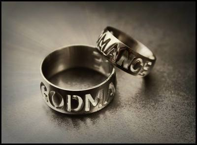 GODMANCE RING (WIDE BAND)