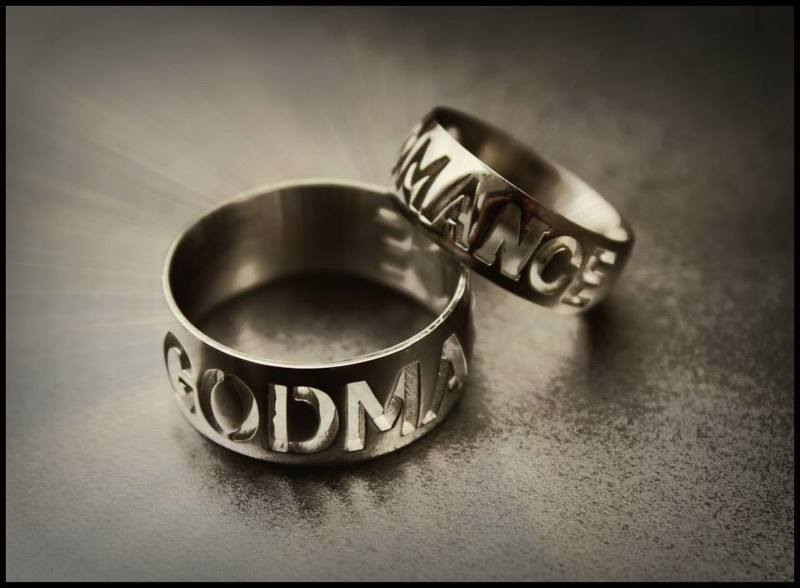GODMANCE RING (WIDE BAND)