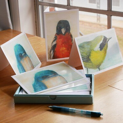 Notecard Set: Songbird Collection - 9 cards & envelopes