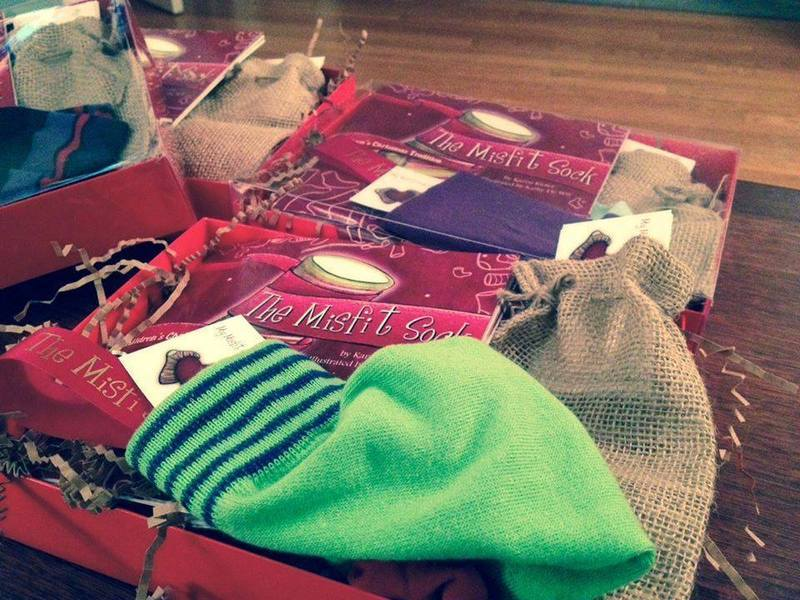 The Misfit Sock Christmas Tradition Gift Set