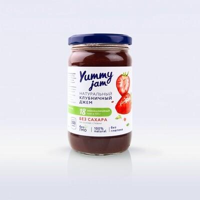 Низкокалорийный джем Yummy Jam клубничный