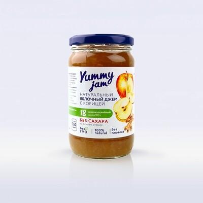 Низкокалорийный джем Yummy Jam яблочный с корицей