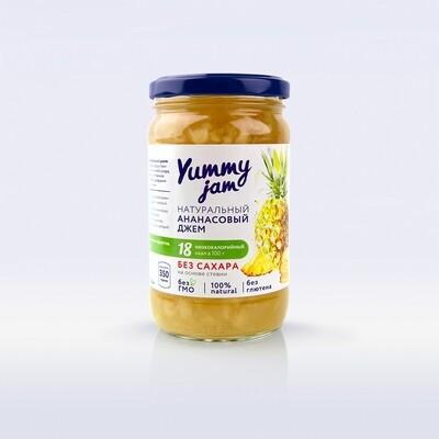 Низкокалорийный джем Yummy Jam ананасовый