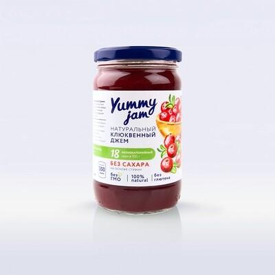 Низкокалорийный джем Yummy Jam клюквенный