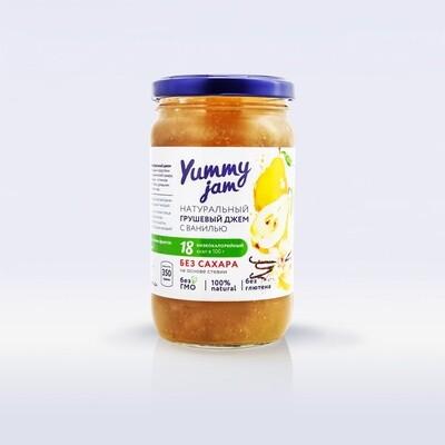 Низкокалорийный джем Yummy Jam грушевый с ванилью