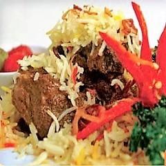 Nasi Bariani Daging (Individually packed)
