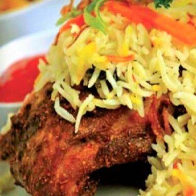 Nasi Bariani Ayam Goreng (Individually packed)