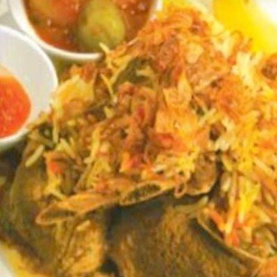 Nasi Bariani Gam Kambing (Individually packed)
