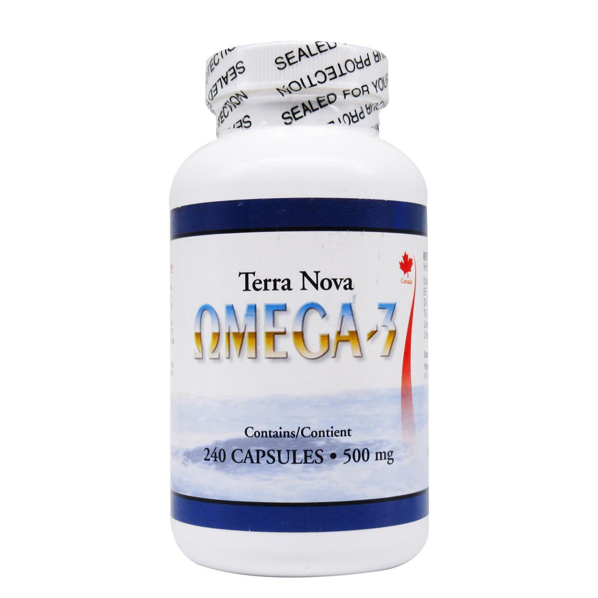 Terra Nova Omega-3 Seal Oil Capsules - 1 Bottle