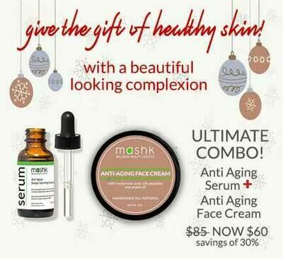 Anti Aging Serum & Face Cream combo