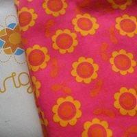 Mantinha de Flanela - Rosa com Flores Amarelas