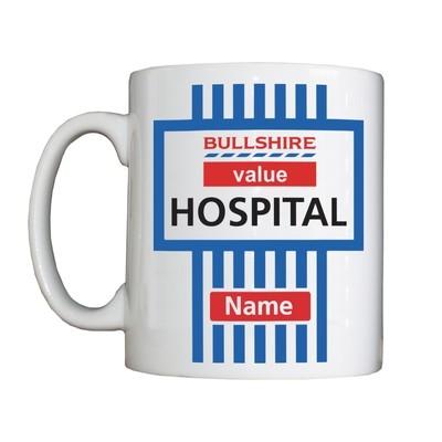 Personalised 'BSHS Value Hospital' Drinking Vessel