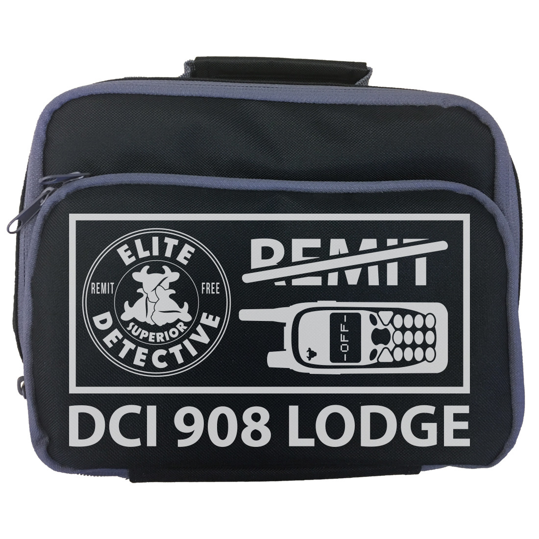 Personalised 'Elite Detective' Lunch Bag