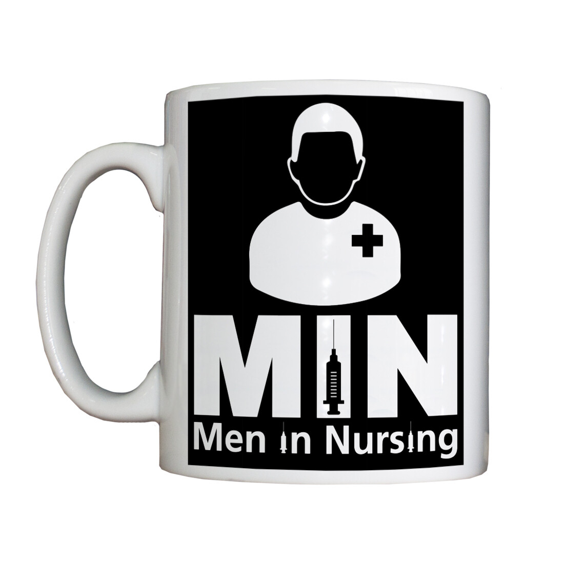 Personalised 'Men in Nursing' Drinking Vessel