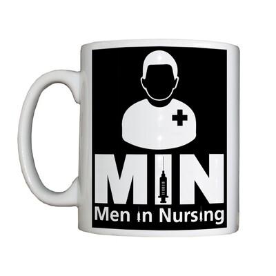 Personalised 'Men in Nursing' Drinking Vessel