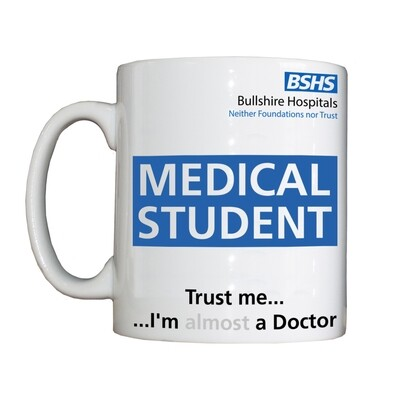 Personalised 'Medical Student' Drinking Vessel