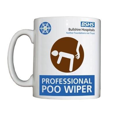 Personalised 'Poo Wiper' Drinking Vessel