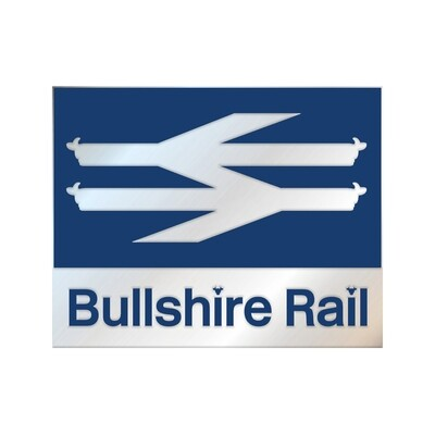 'Bullshire Rail' Pin Badge