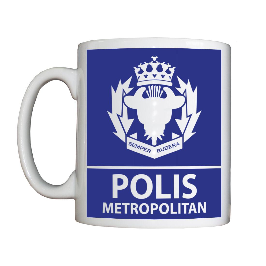 Personalised 'Polis Metropolitan' Drinking Vessel