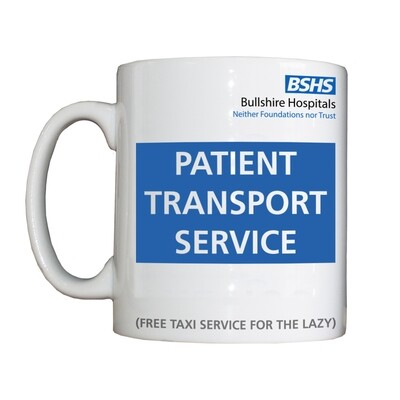 Personalised 'Patient Transport Service' Drinking Vessel