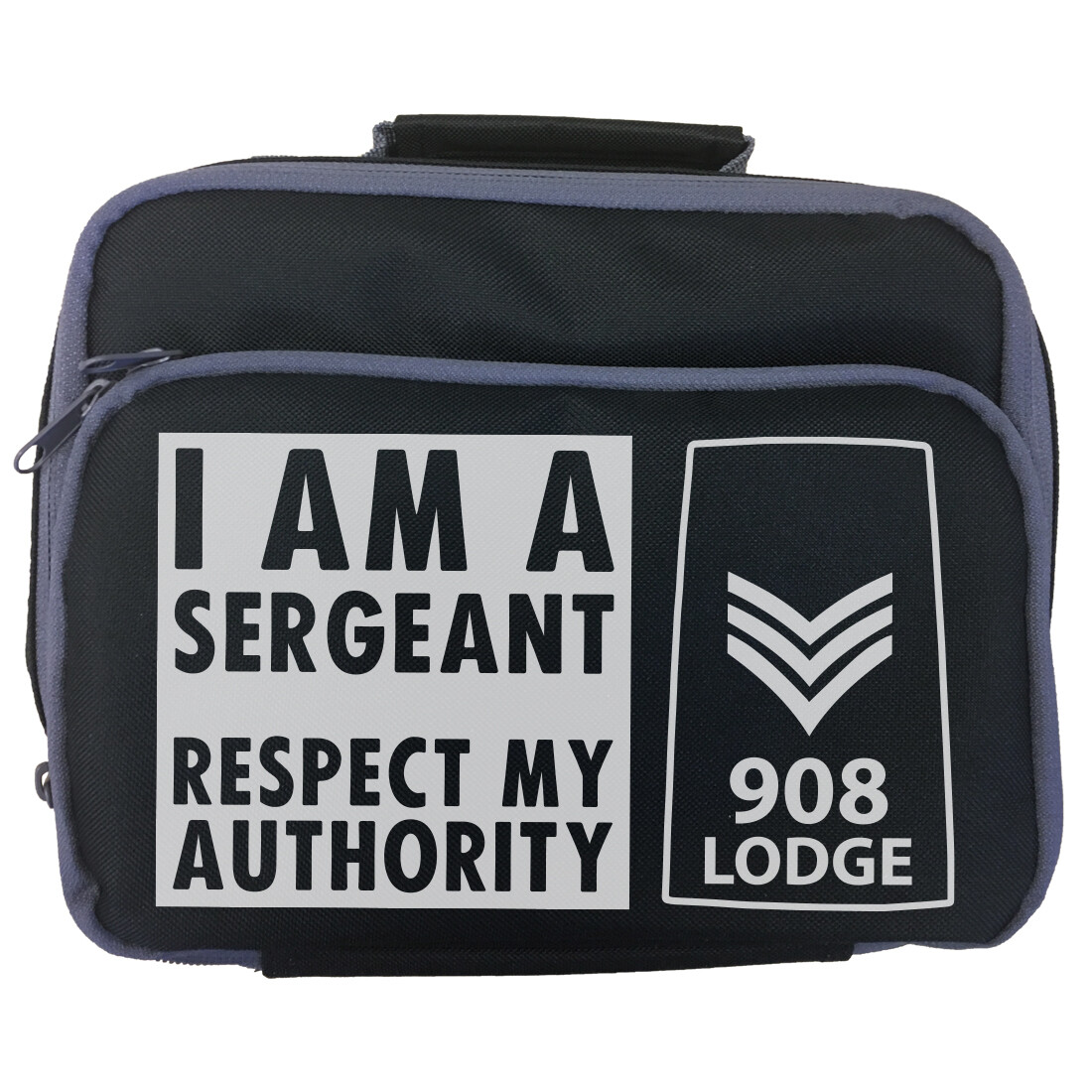 Personalised 'I am a Sergeant' Lunch Bag
