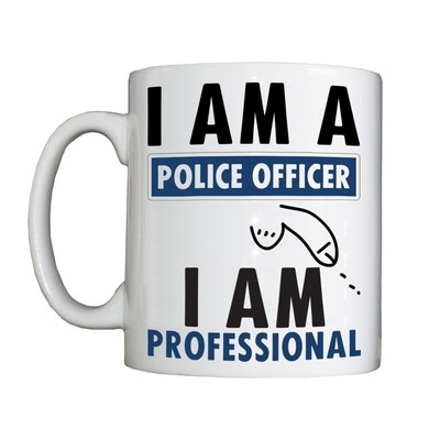Personalised 'I AM PROFESSIONAL' Drinking Vessel