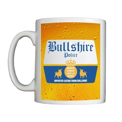 Personalised 'Bullshirona' Drinking Vessel