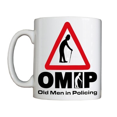 Personalised 'Old Men in Policing' Drinking Vessel