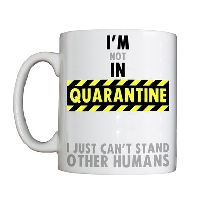 Personalised 'Quarantine' Drinking Vessel